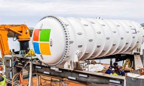 Microsoft ได้นำศูนย์ข้อมูลใต้น้ำขึ้นมาตรวจสอบอีกครั้ง หลังจากที่อยู่ใต้ท้องทะเลนานถึงสองปี