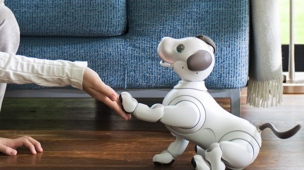 AI Aibo หุ่นยนต์สุนัข