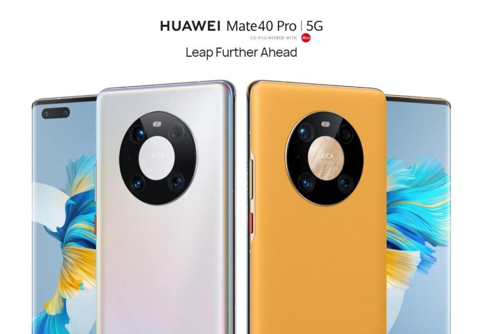 สมาร์ทโฟน Huawei Mate 40