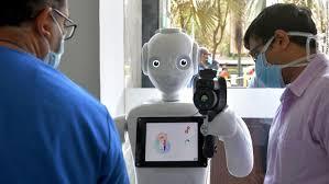 ประเทศอินเดียใช้ หุ่นยนต์ช่วยการทำงานในโรงพยาบาล
