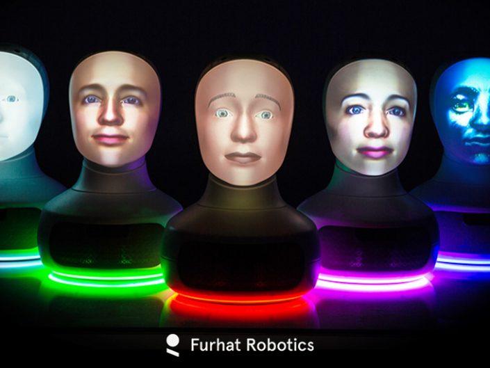 Furhat Social Robot หุ่นยนต์