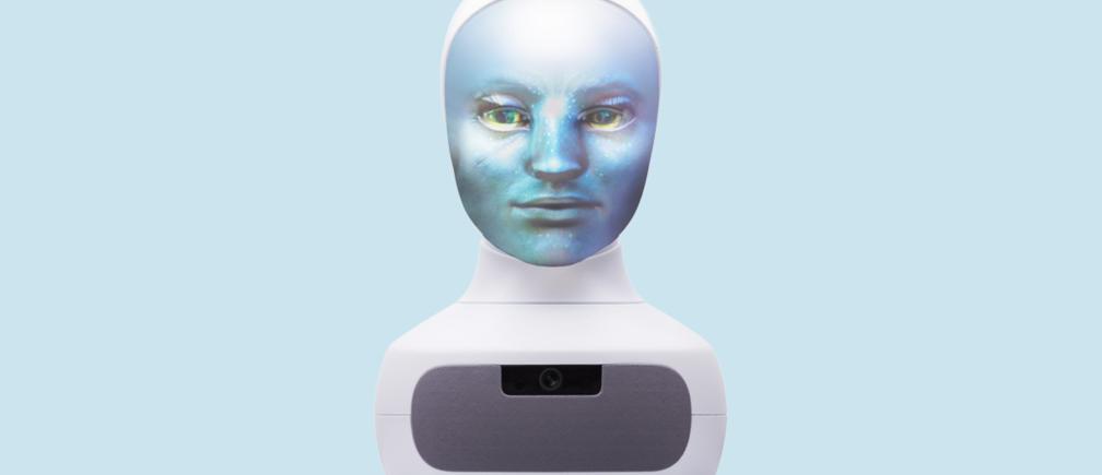 Furhat Social Robot หุ่นยนต์-โดยบริษัท Furhat Robotics