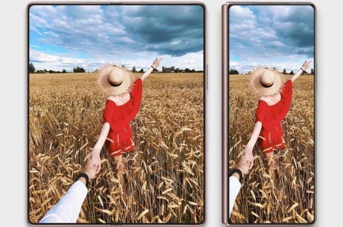 Samsung Galaxy Z Fold ซึ่งจะซ่อนอยู่ใต้จอขนาด 6.92 นิ้ว