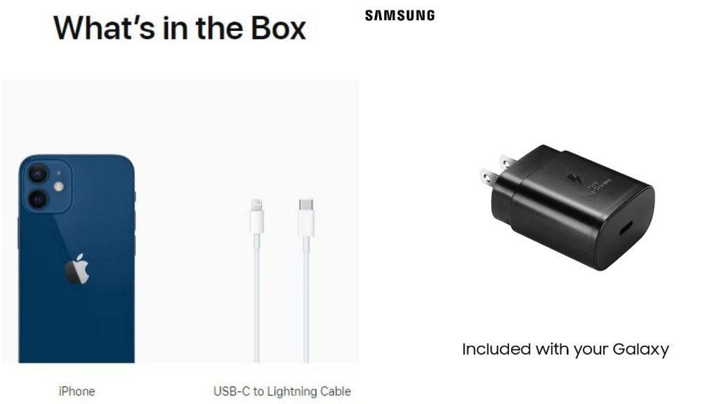 Samsung (ซัมซุง) ผู้กลับลำต่อการแจกหัวชาร์จ
