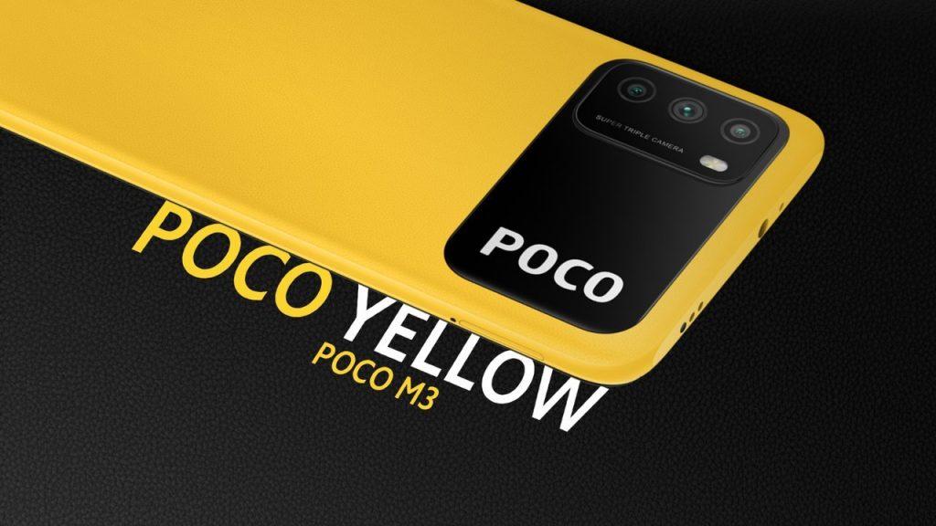 POCO M3-ระบบปฏิบัติการ Android 10.0