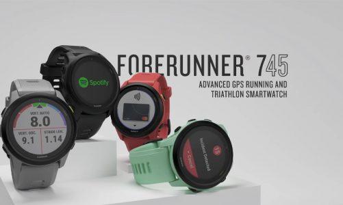 เรือนเดียวครบจบทุกฟังก์ชั่นการออกกำลังกายไปกับ Smart Watch แบรน์ด  Garmin Forerunner 745  Sport Watch