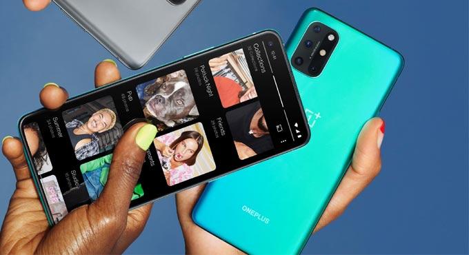 สมาร์ทโฟนจาก OnePlus  8T 5G