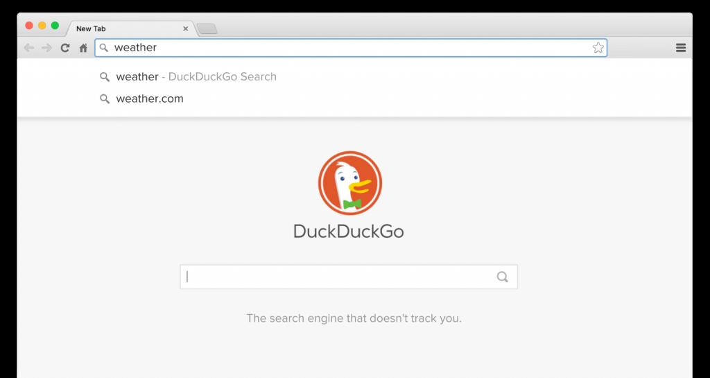 DuckDuckGo เว็บไซต์ค้นหาเพื่อความปลอดภัย