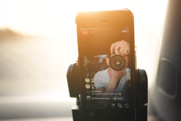 Instagram Live สามารถปิดเสียงและปิดวิดีโอ